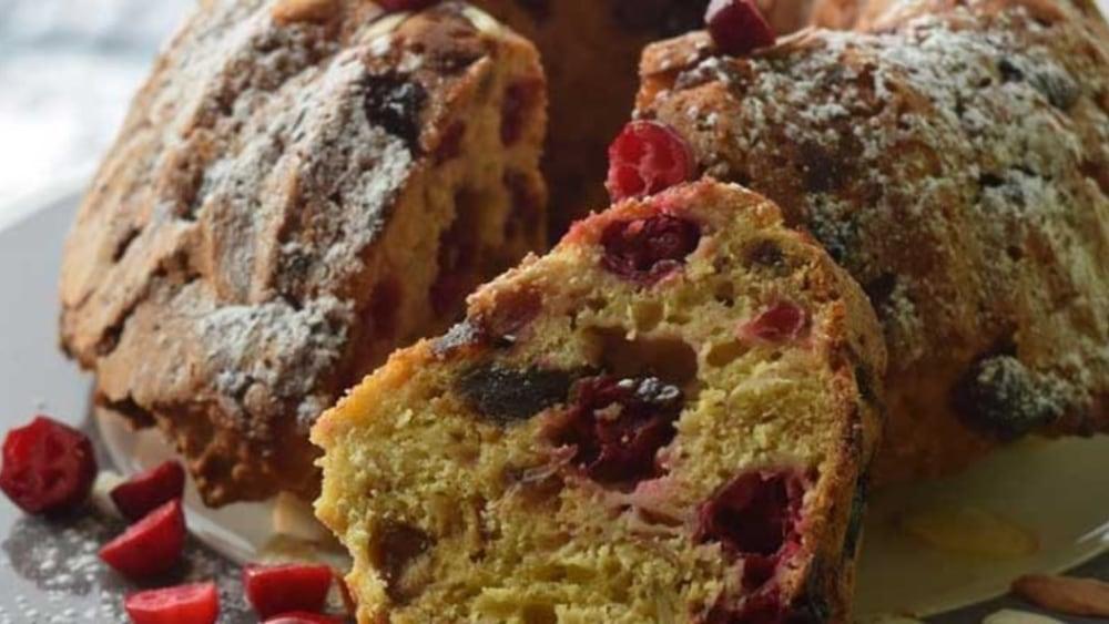 Image of Low-Sugar Cranberry Orange Date Bread