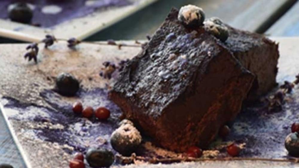 Image of No Bake Adzuki Bean Fudge (modified to be sugar-free, dairy-free)