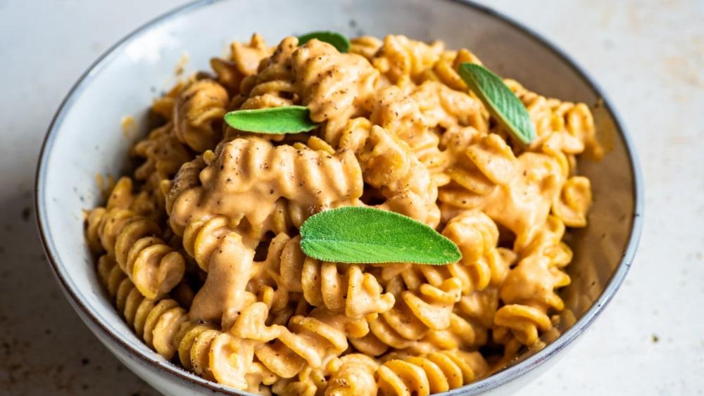 Image of Creamy Pumpkin Cashew Butter Pasta