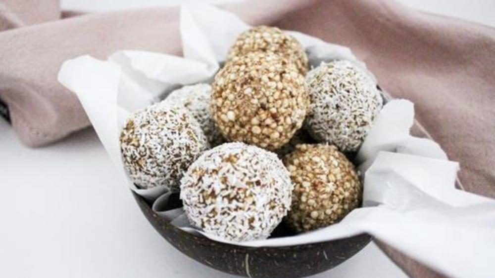 Image of Nussfreie Lebkuchen Energy Balls