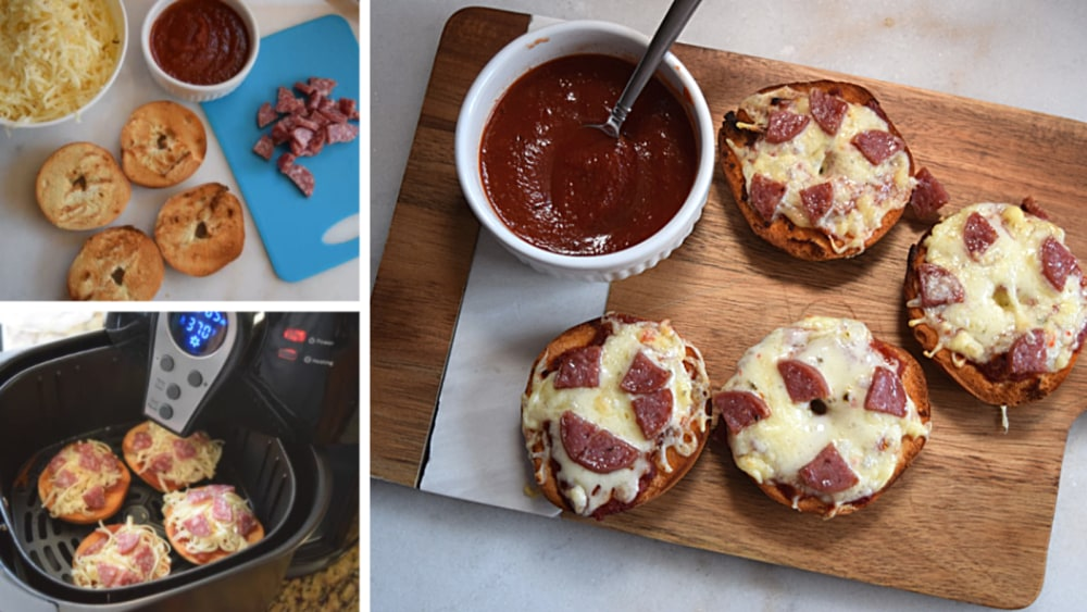 Image of Spicy Mini Bagel Pizzas
