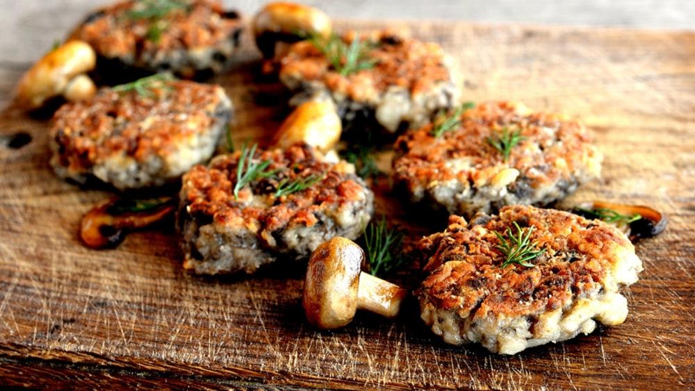 Image of Mushroom Burgers