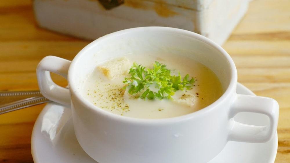 Image of Mushroom & Leek Soup