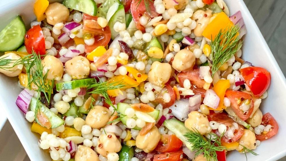 Image of Vegan Harvest Grain Mediterranean Bowl