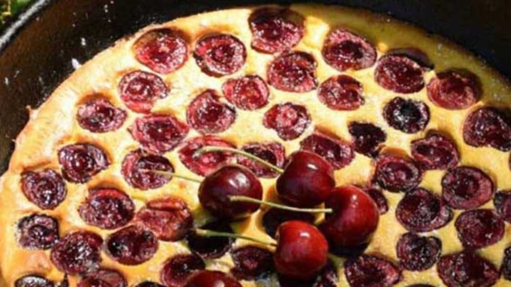 Image of Cherry Clafoutis