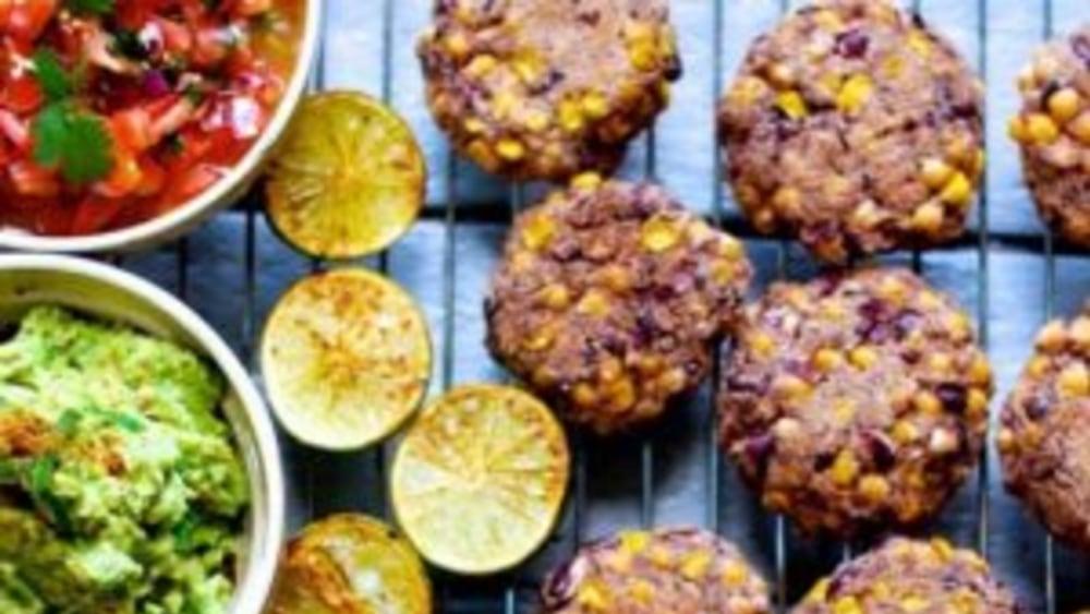 Image of Cumin and bean burgers