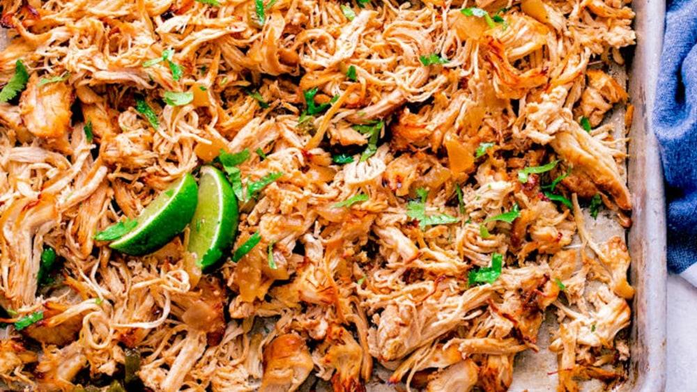 Image ofInstant Pot Chicken Carnitas Recipe | Elijah's Xtreme
