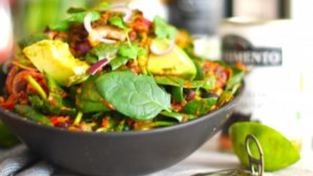 Image of Nutritious chili salad