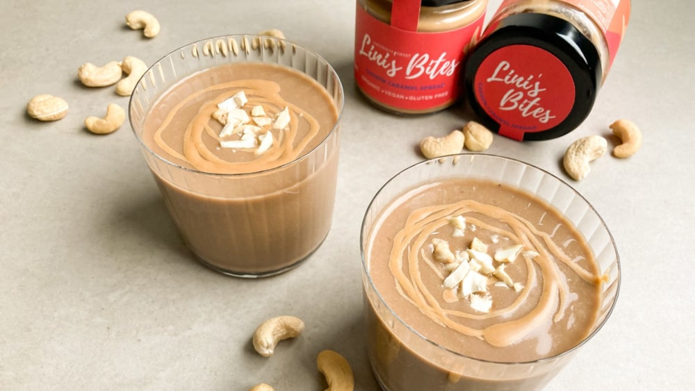 Image of Cashew Caramel Coffee Shake