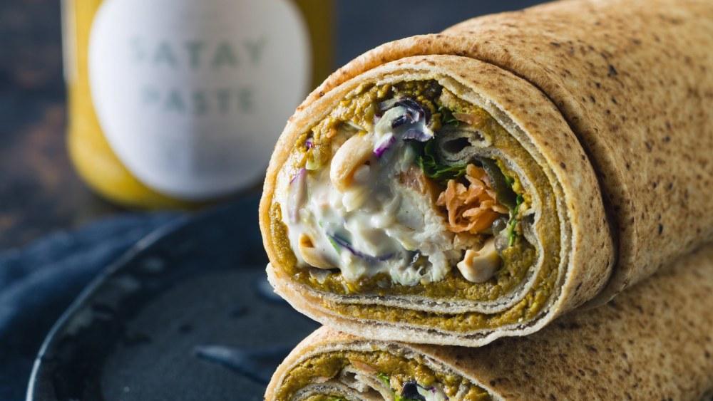 Image of Satay Chicken Wrap