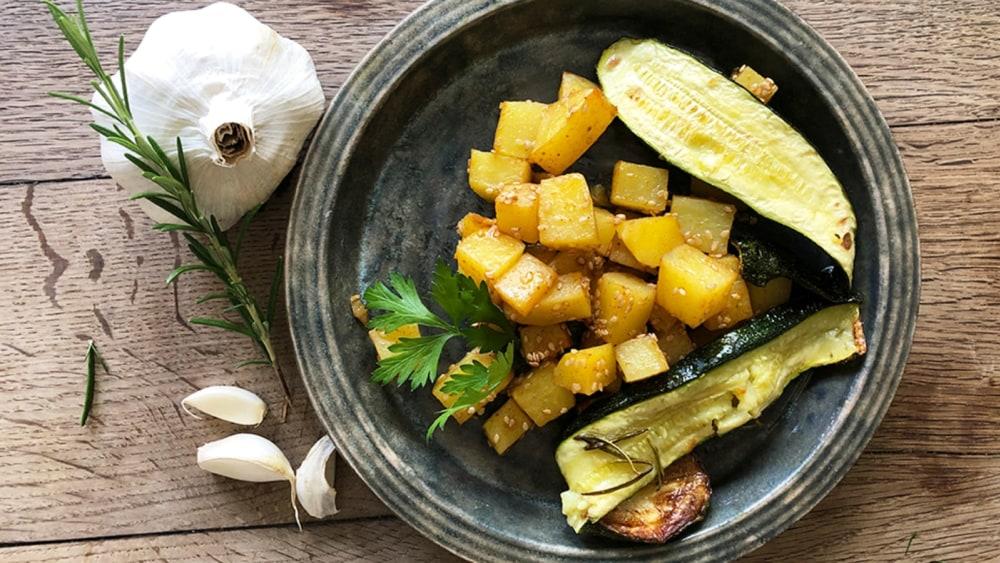 Image of Sesamkartoffeln