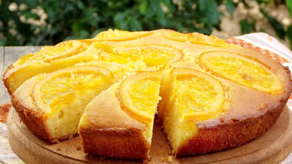 Image of Orange Polenta Cake