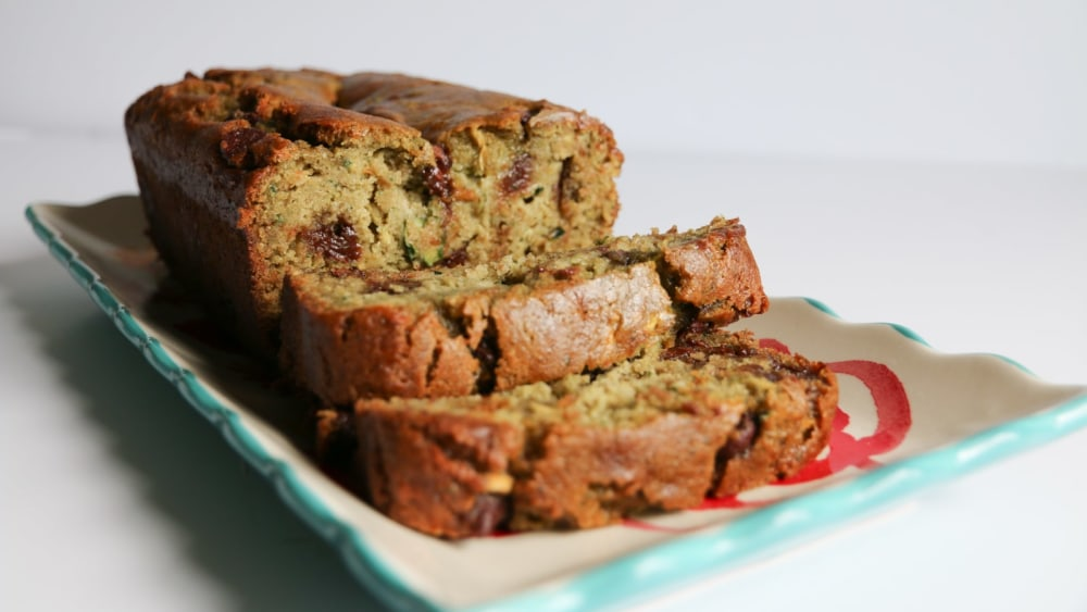 Image of Gluten-Free Chocolate Chip Zucchini Bread