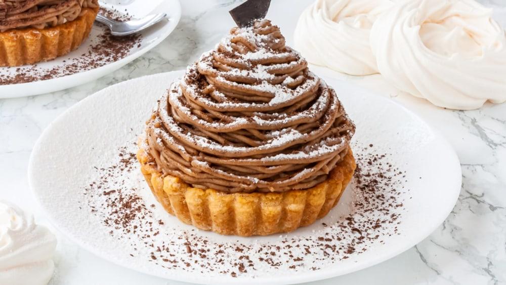 Image of Mont Blanc - Chestnut Dessert