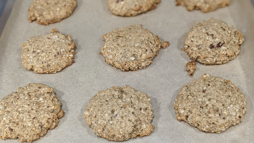 Image of Healthy Oatmeal Date Cookies