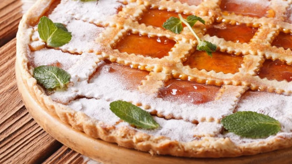 Image of Hungarian Apricot Tart