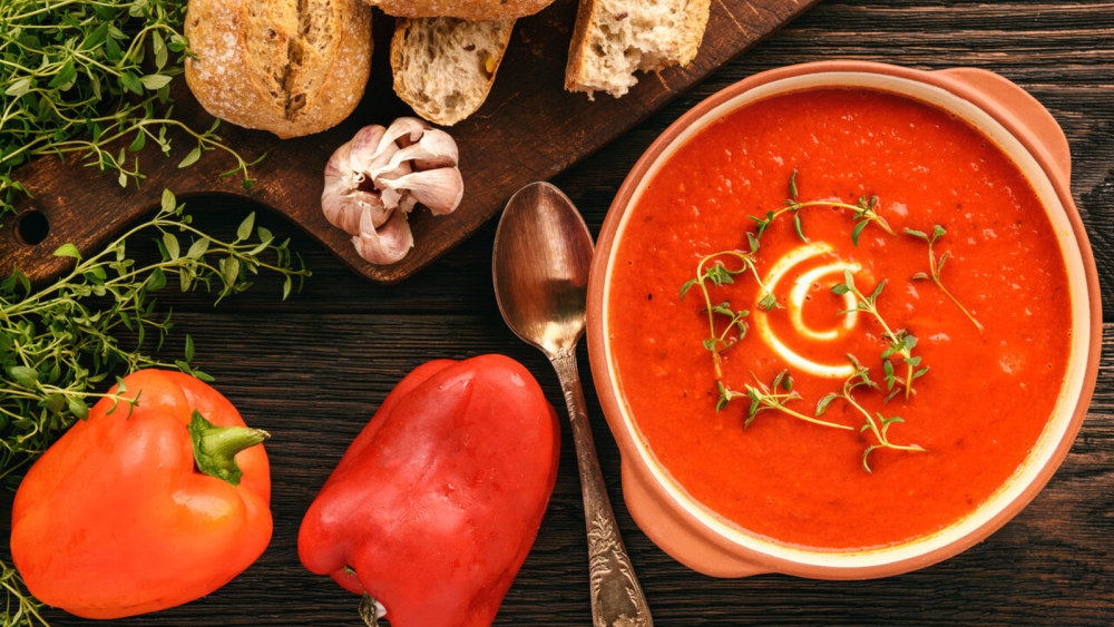 Image of Roasted Red Pepper Soup