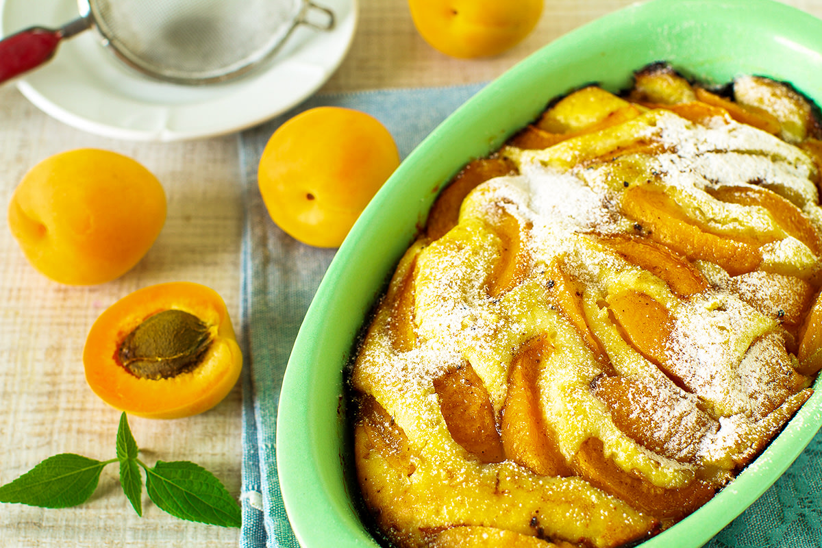 Image of Almond Apricot Cobbler