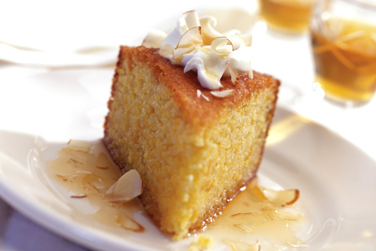 Image of Polenta Almond Cake