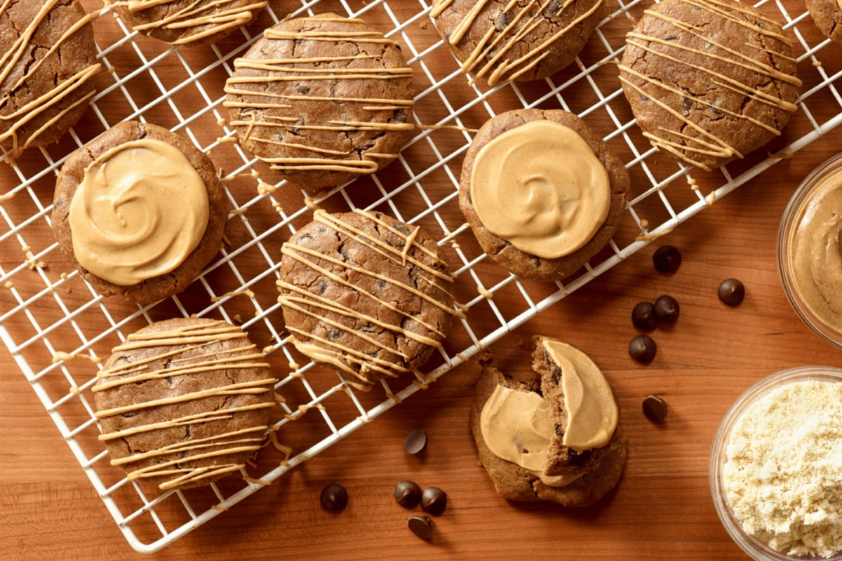 Image of Chewy Almond Power Cookies