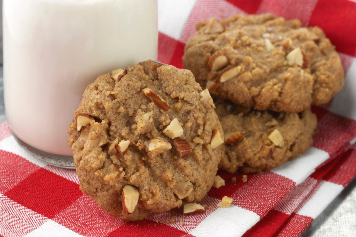 Image of Almond Butter Crunch Cookies
