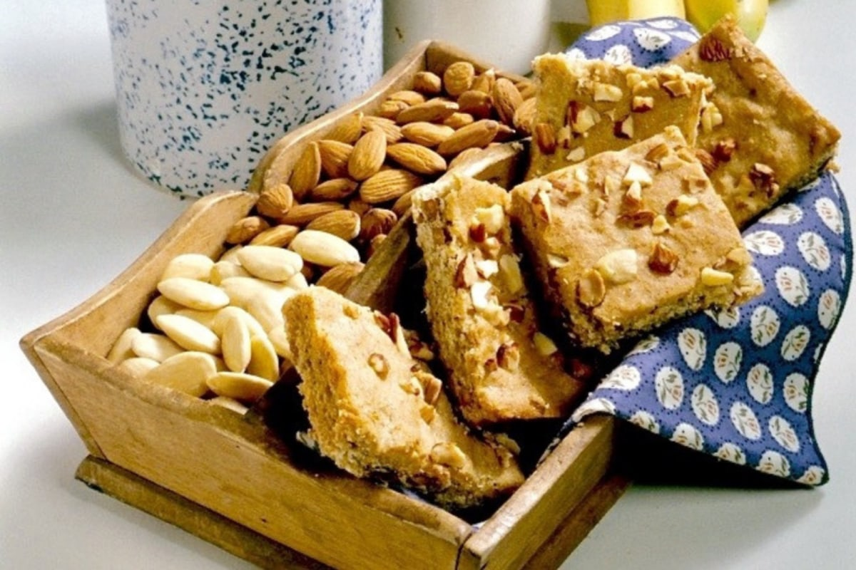 Image of Almond Banana Bars
