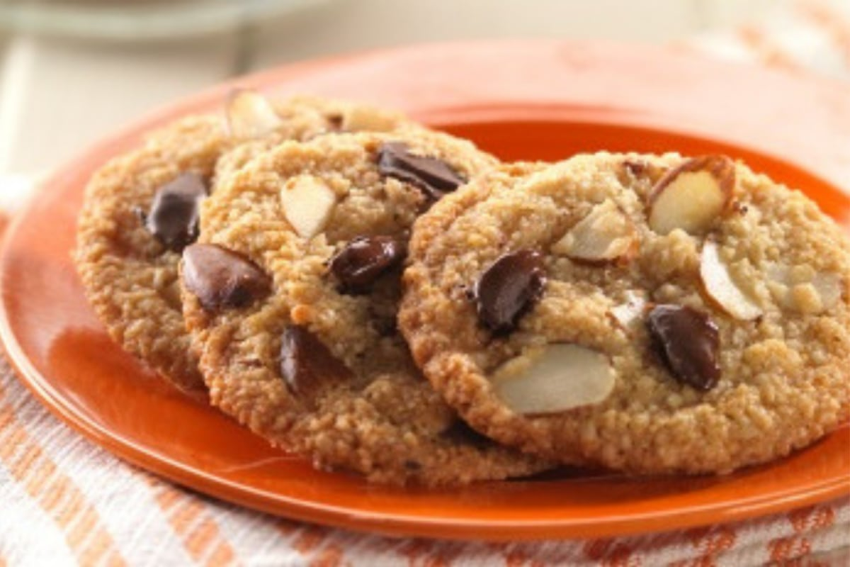 Image of Double Almond Chocolate Chip Cookies