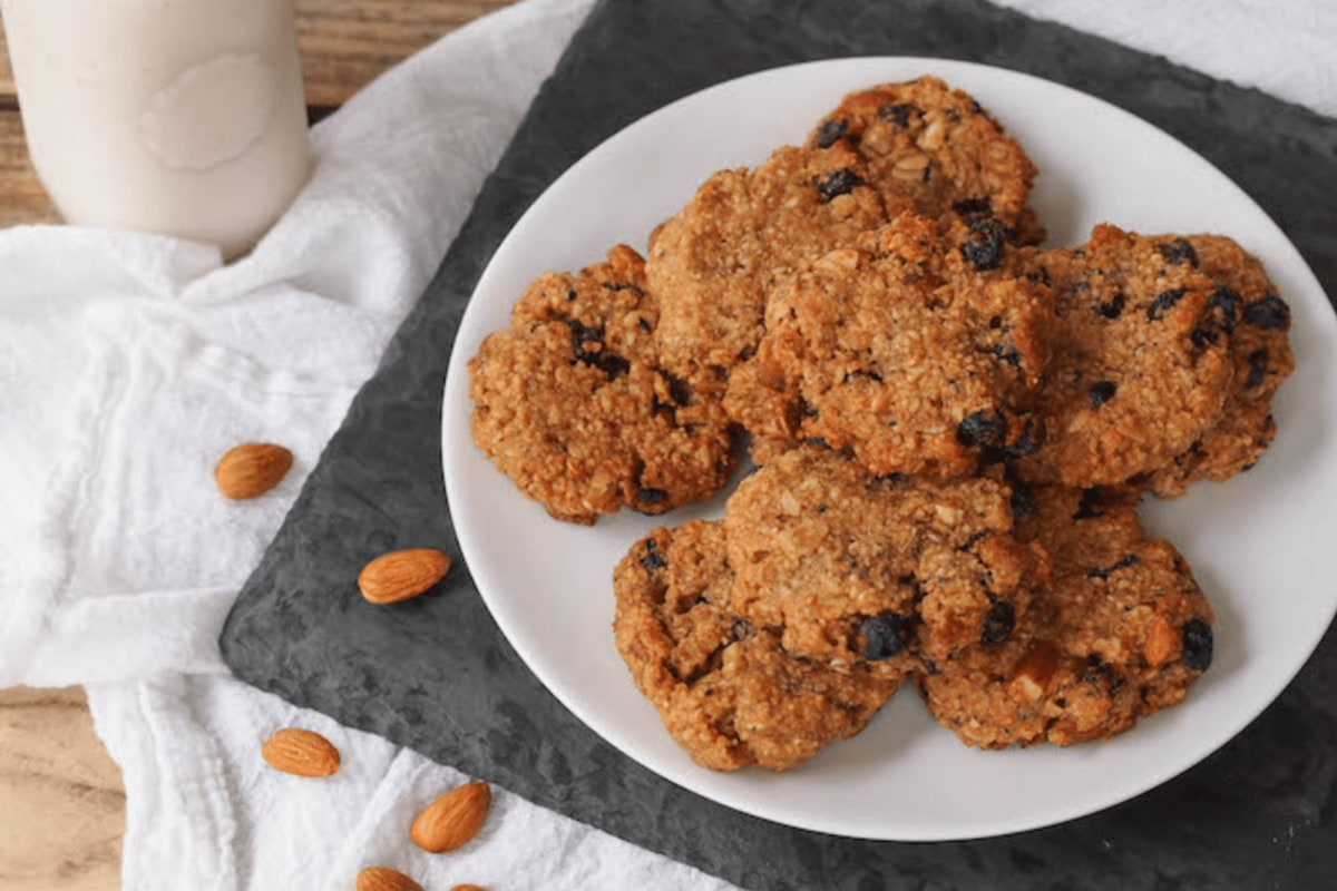 Image of Almond Trail Mix Cookies