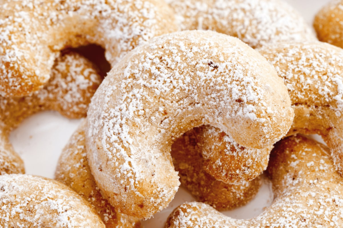 Image of Almond Crescent Cookies