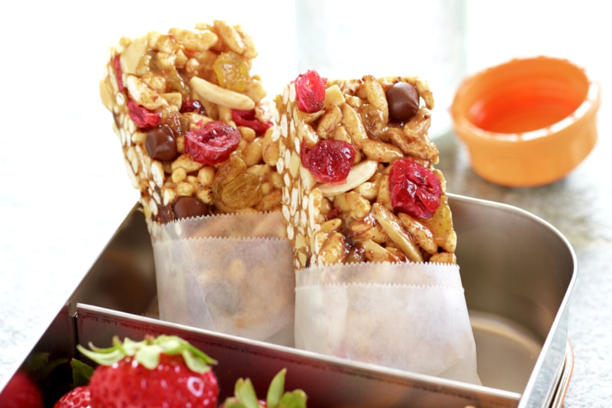Image of Sweet And Salty Almond Trail Bars