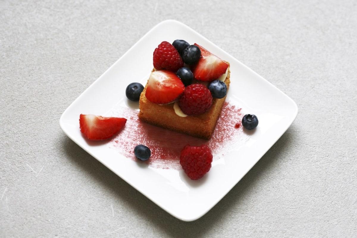 Image of Florian Bellanger's Berries Almond Tart