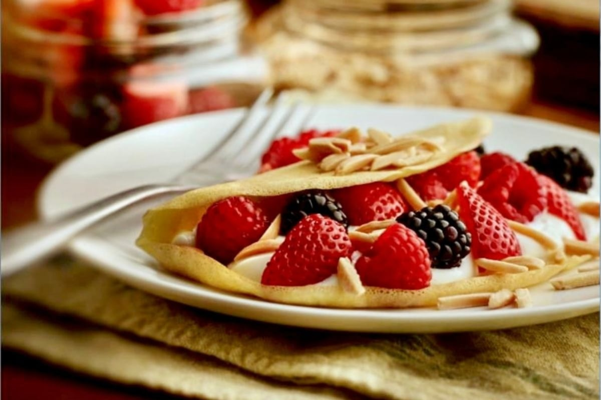 Image of Almond Crepes