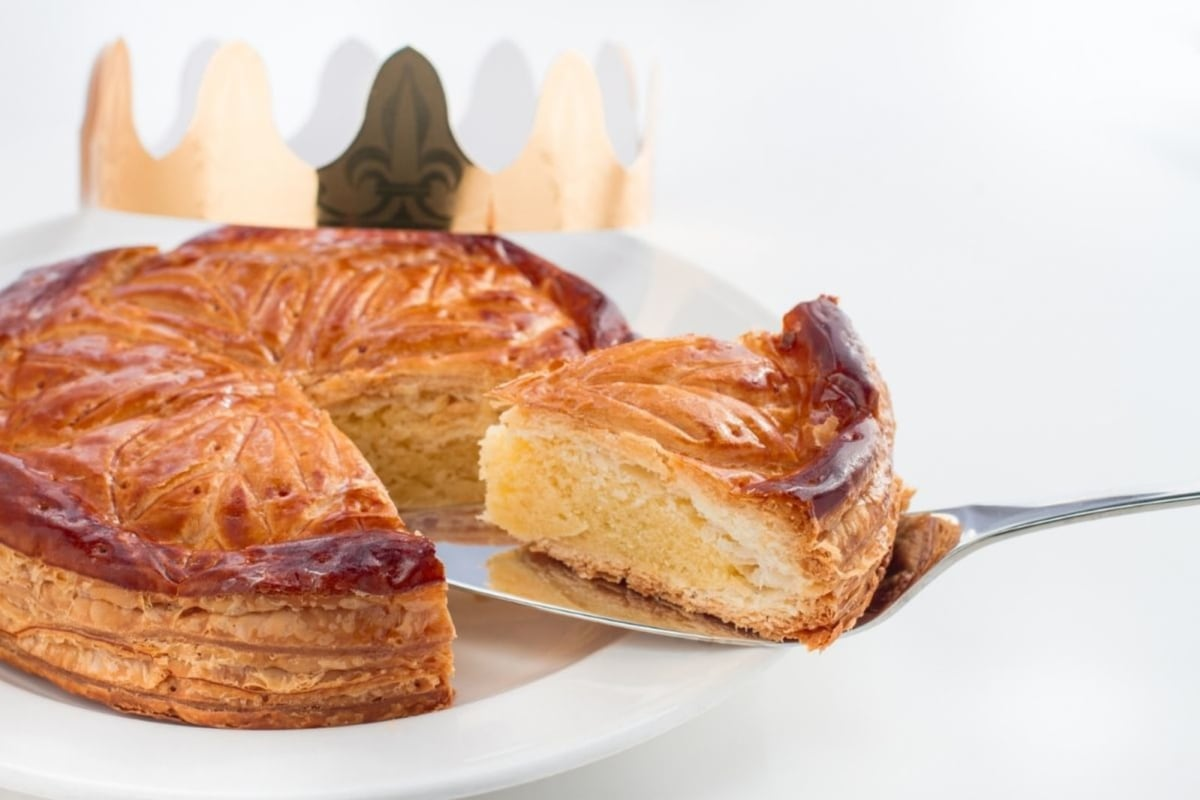 Image of French Galette Filled with Almond Cream