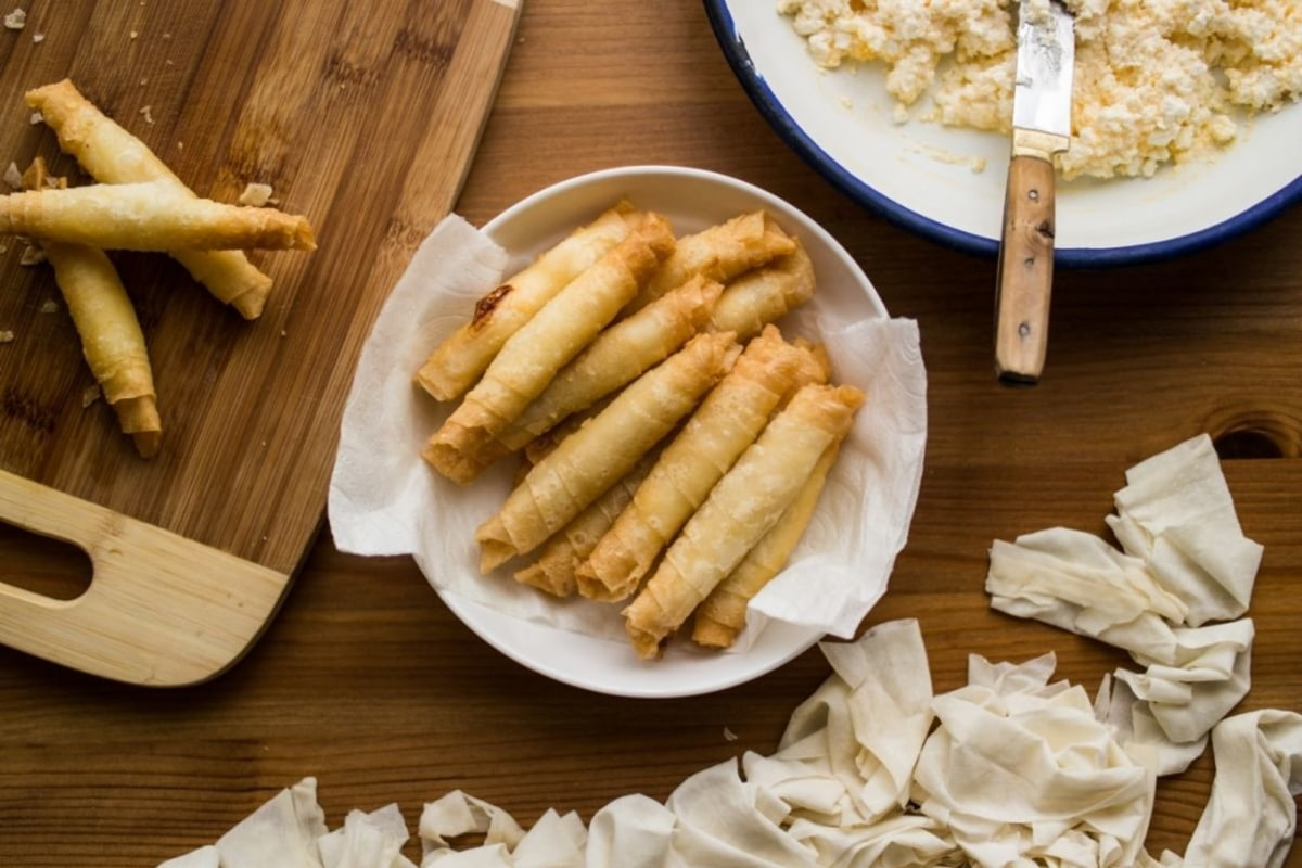 Image of Sweet Almond Phyllo Strips
