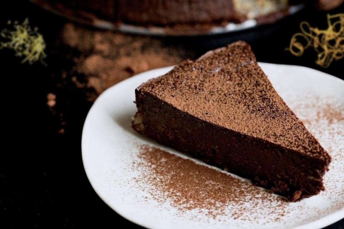 Image of Chocolate Citrus Almond Torte