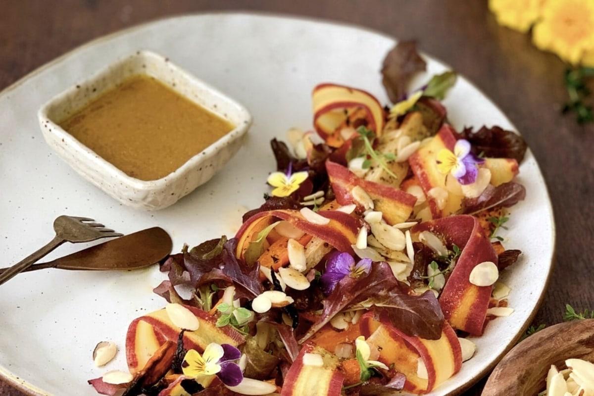 Image of Roasted Heirloom Carrot Salad