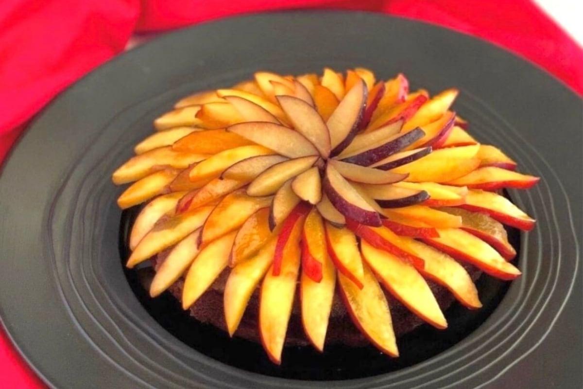 Image of Honey Almond Date Cake