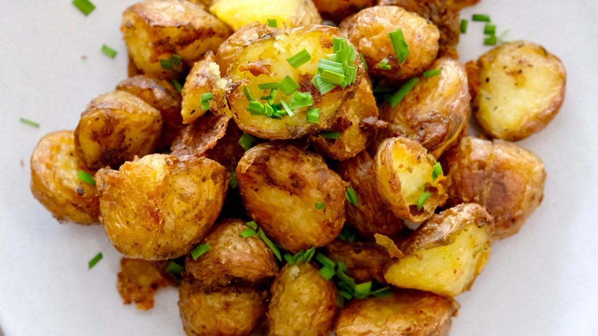 Image of Low FODMAP Crisp-Roasted Baby Potatoes