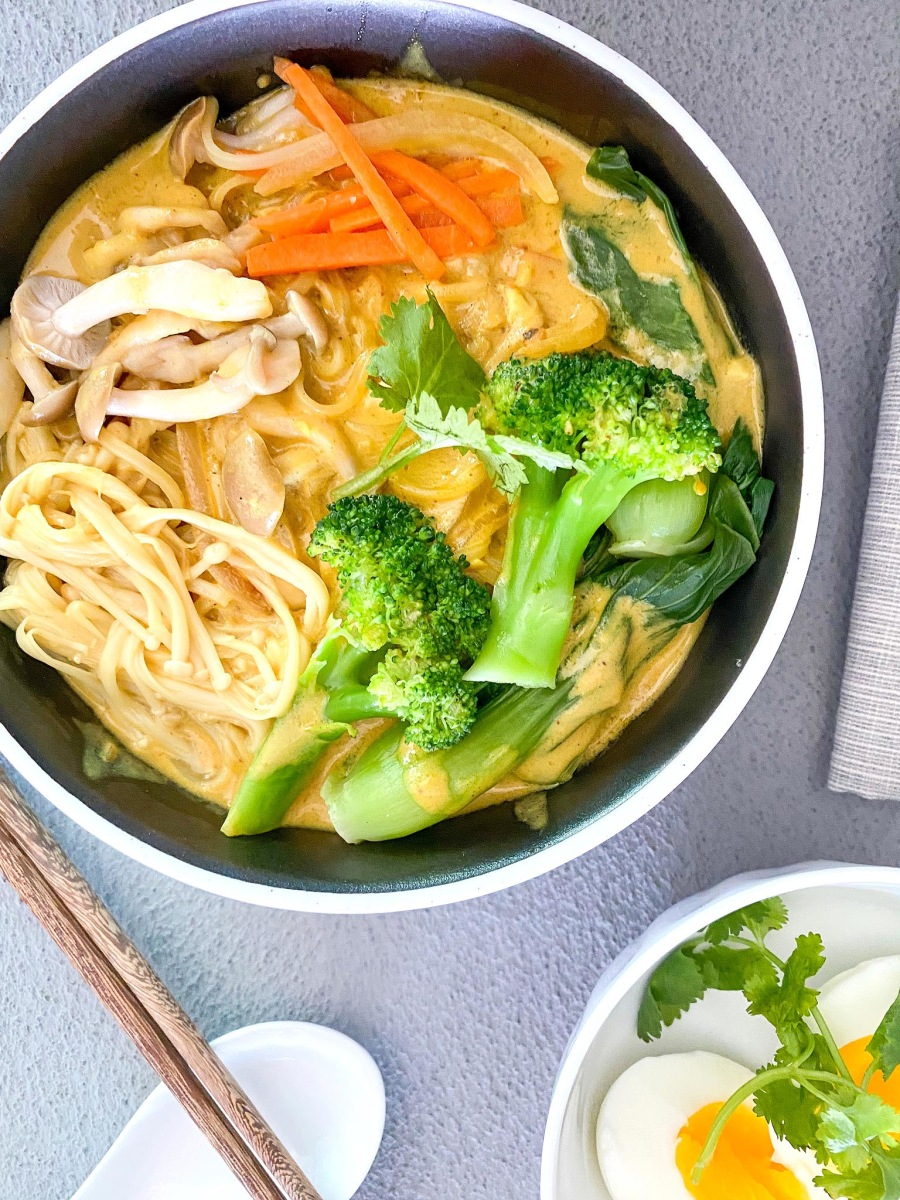 Image ofVegan Yellow Curry Soup Noodle