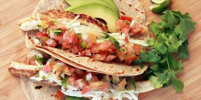 Image ofPan-Seared Fish Tacos