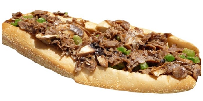 """Image of""""Healthy"""" Philly Cheesesteak"""