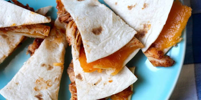 Image ofBuffalo Chicken Quesadillas