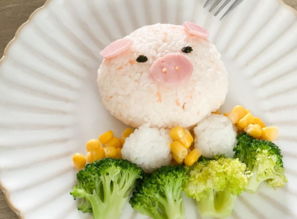 Image ofCute Salmon Onigiri For Kids
