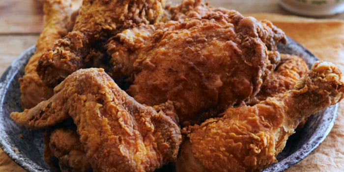 """Image ofHealthy """"Fried"""" Chicken"""