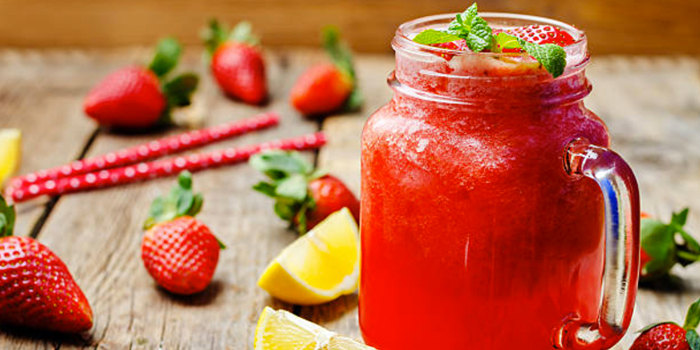 Image ofStrawberry & Mint Lemonade