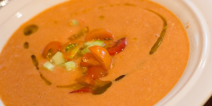 Image ofChilled Bell Pepper Soup