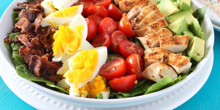 Image ofRoast Turkey Cobb Salad