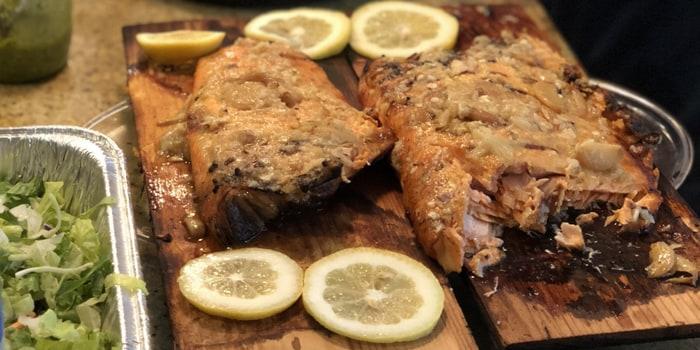 "Image of""Walk The Plank"" Salmon"