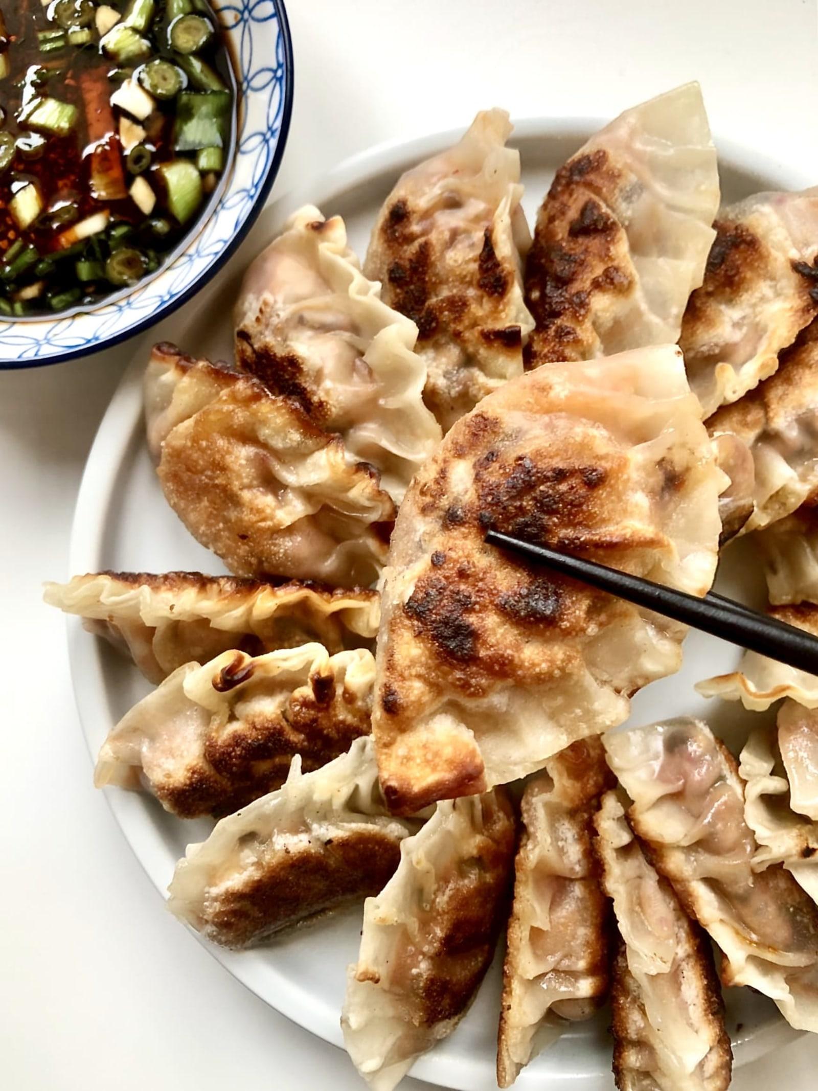 Image of Omnipork Cabbage Dumplings by @SincerelyAline
