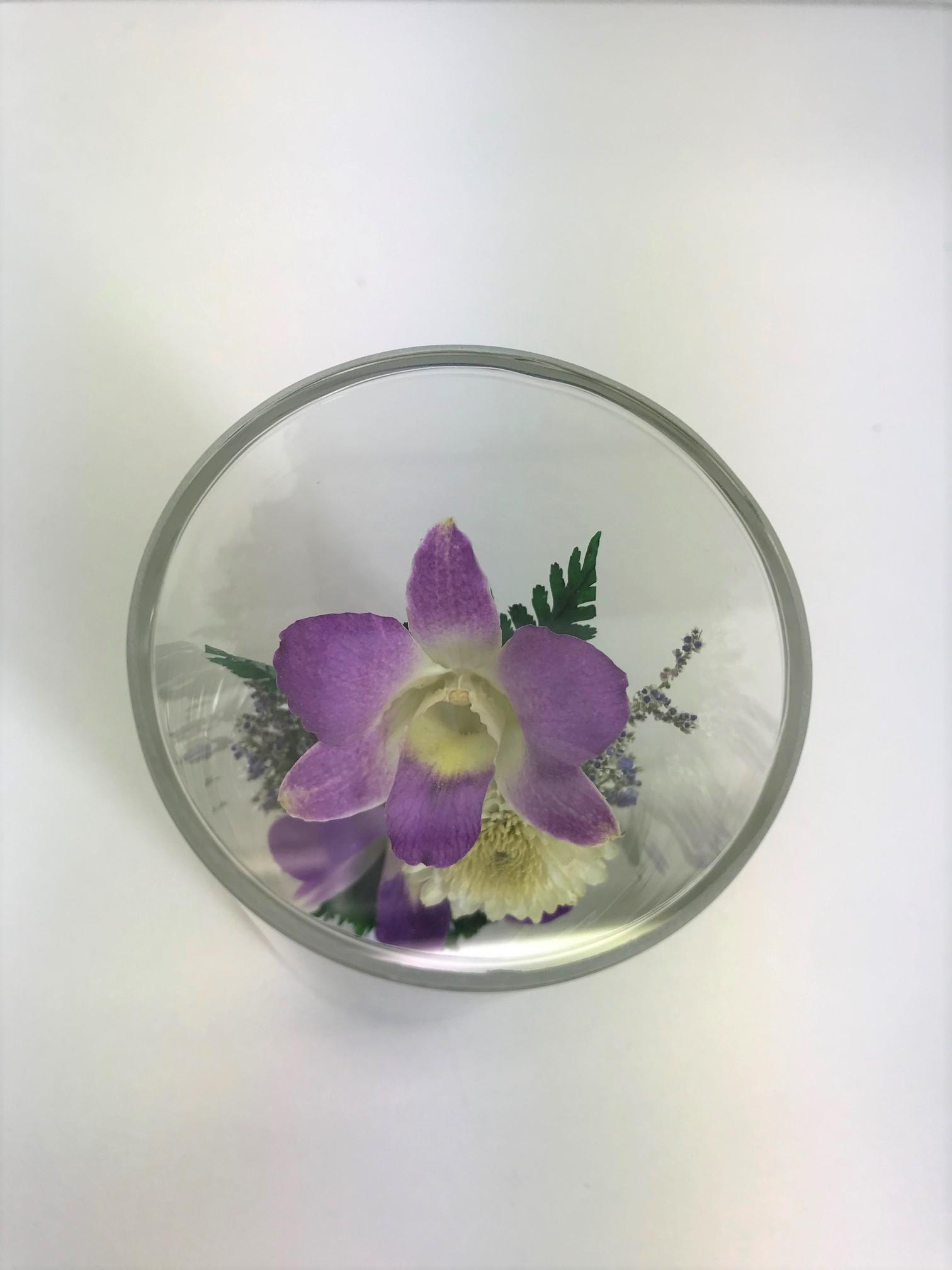 お盆のお供えに 仏花 ドライフラワー 双紫(そうし) 1個 - 8